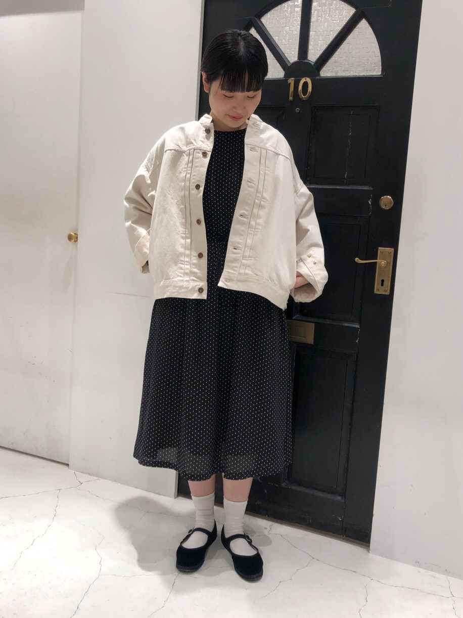 Dot and Stripes CHILD WOMAN ルクアイーレ 身長:165cm 2020.04.08