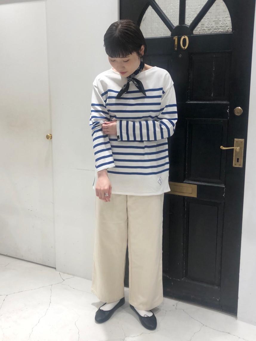 Dot and Stripes CHILD WOMAN ルクアイーレ 身長:165cm 2021.02.12