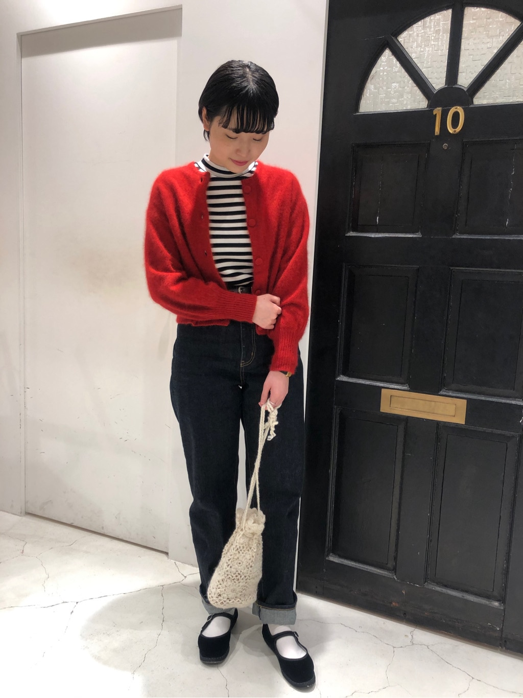 Dot and Stripes CHILD WOMAN ルクアイーレ 身長:165cm 2020.09.23