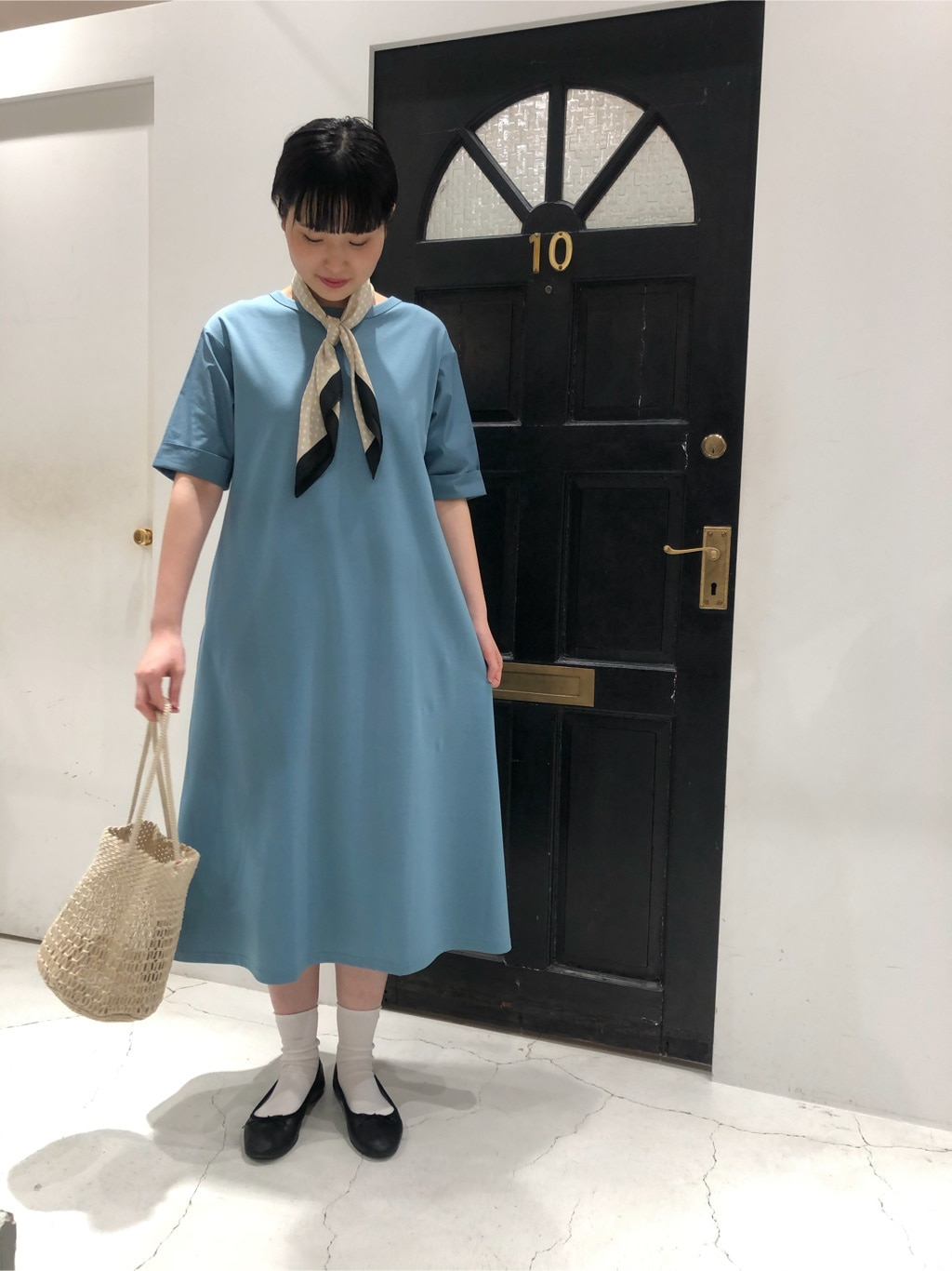 Dot and Stripes CHILD WOMAN ルクアイーレ 身長:165cm 2020.06.19