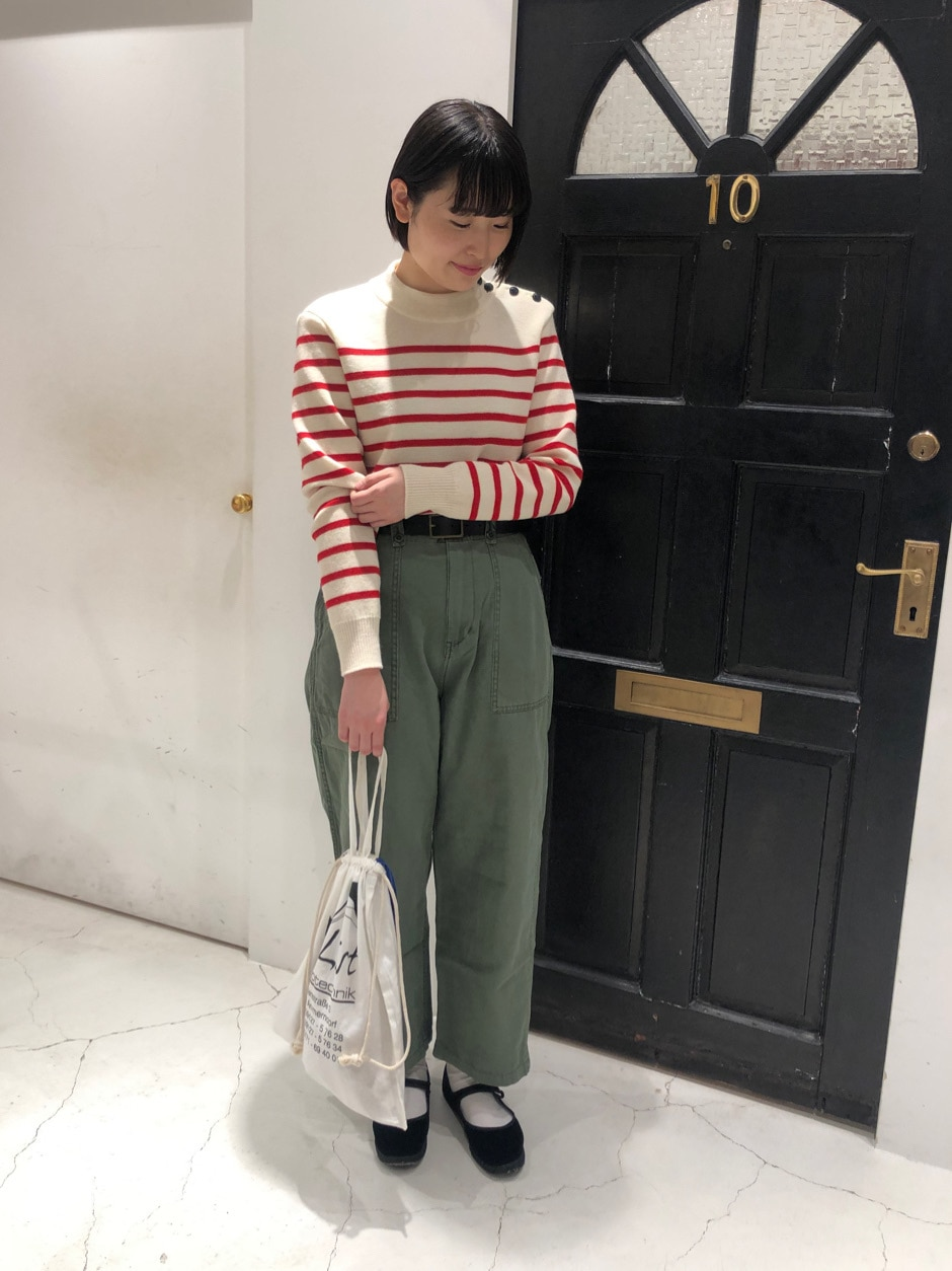 Dot and Stripes CHILD WOMAN ルクアイーレ 身長:165cm 2020.11.25