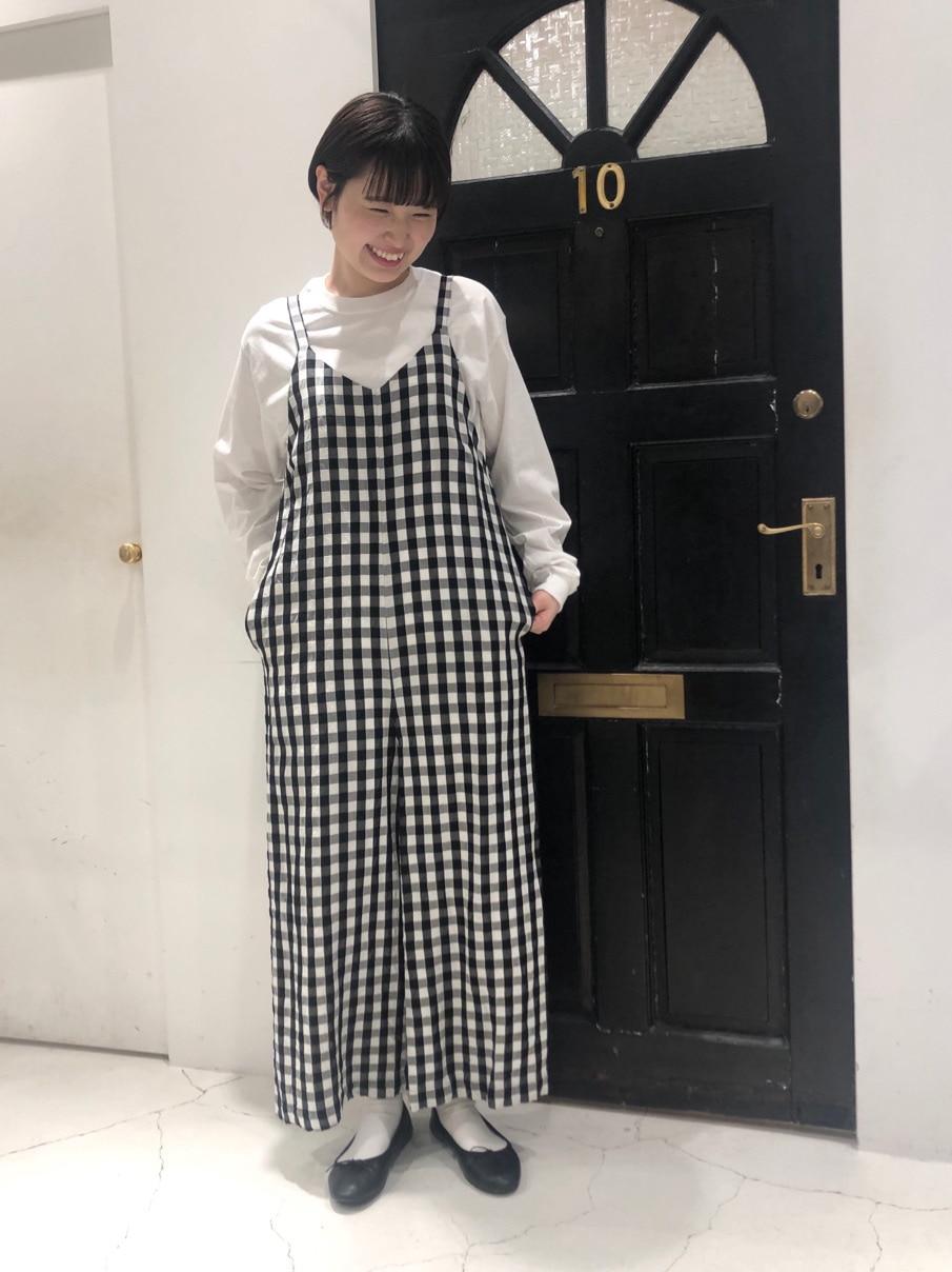 Dot and Stripes CHILD WOMAN ルクアイーレ 身長:165cm 2021.02.05