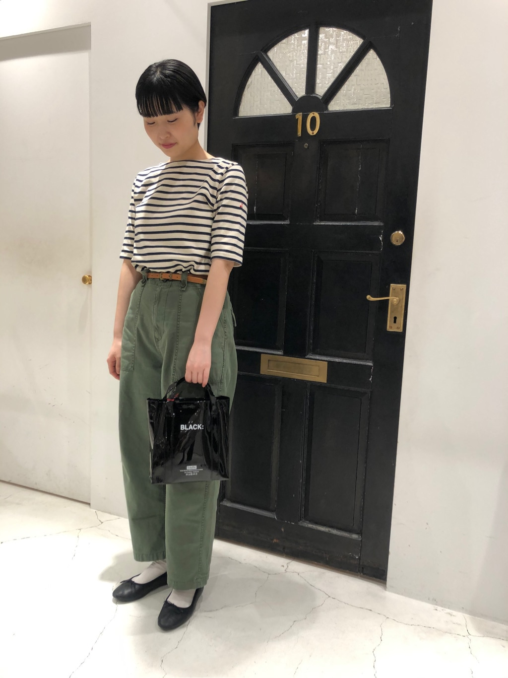 Dot and Stripes CHILD WOMAN ルクアイーレ 身長:165cm 2020.07.03