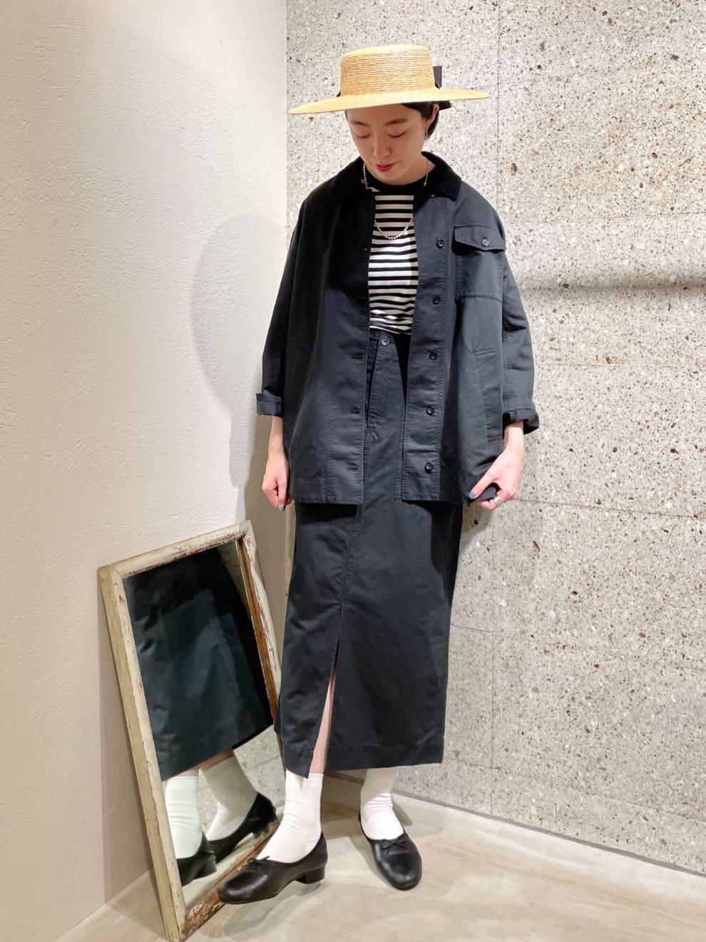yuni ニュウマン横浜 身長:166cm 2021.08.28