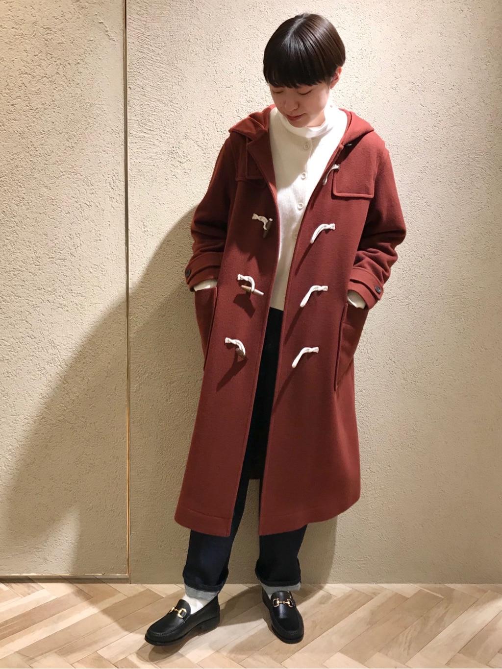 yuni ニュウマン横浜 身長:166cm 2020.12.22