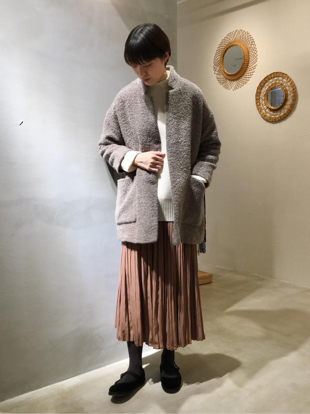 yuni ニュウマン横浜 身長:166cm 2020.12.01