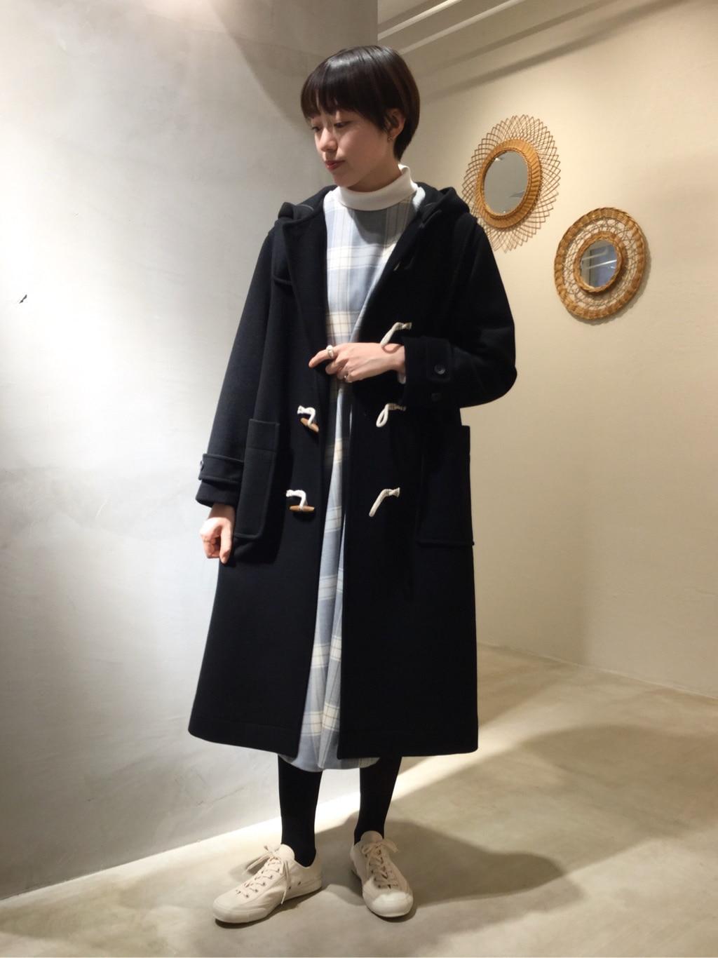 yuni ニュウマン横浜 身長:166cm 2020.11.11