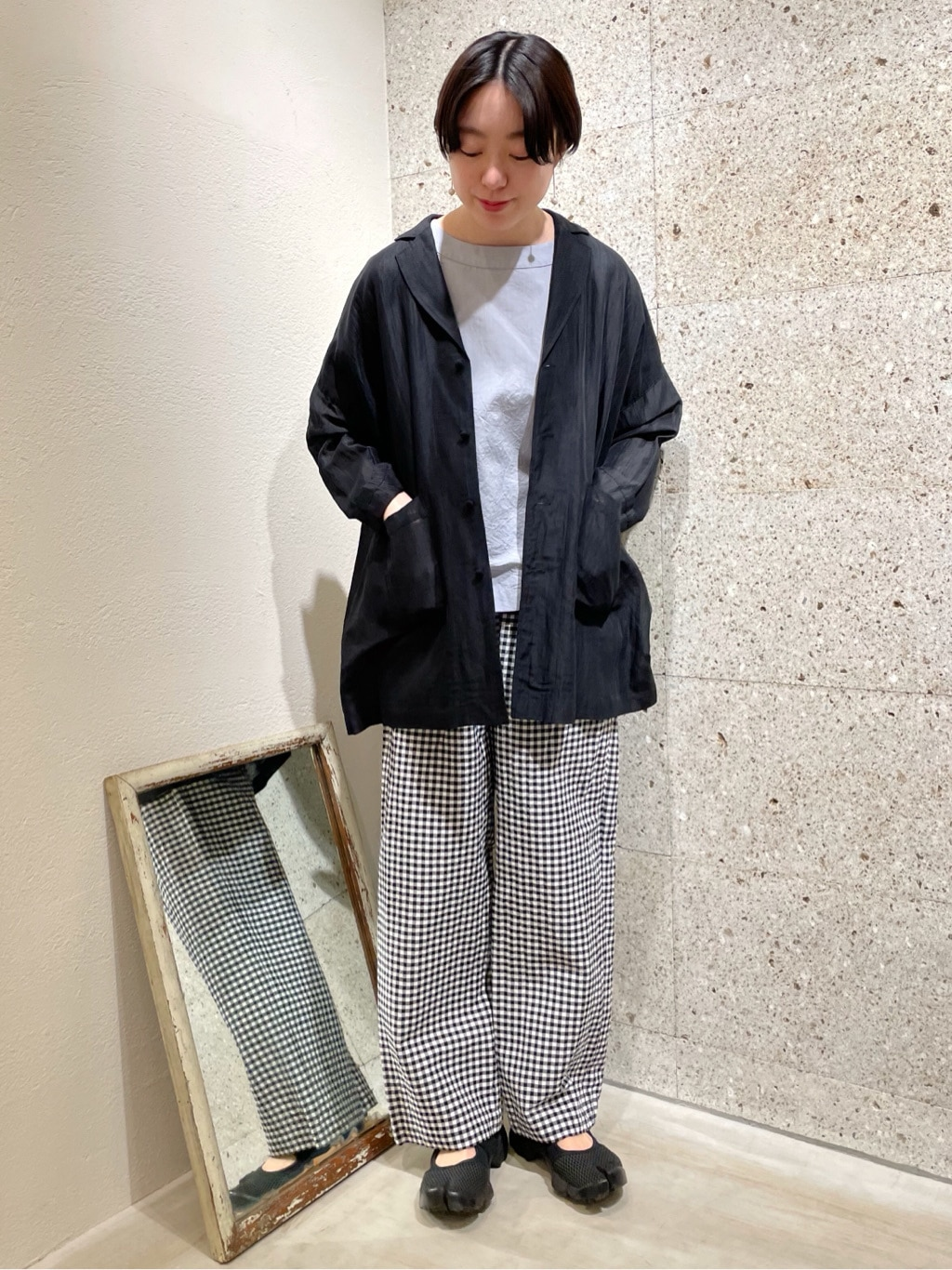 yuni ニュウマン横浜 身長:166cm 2021.04.07