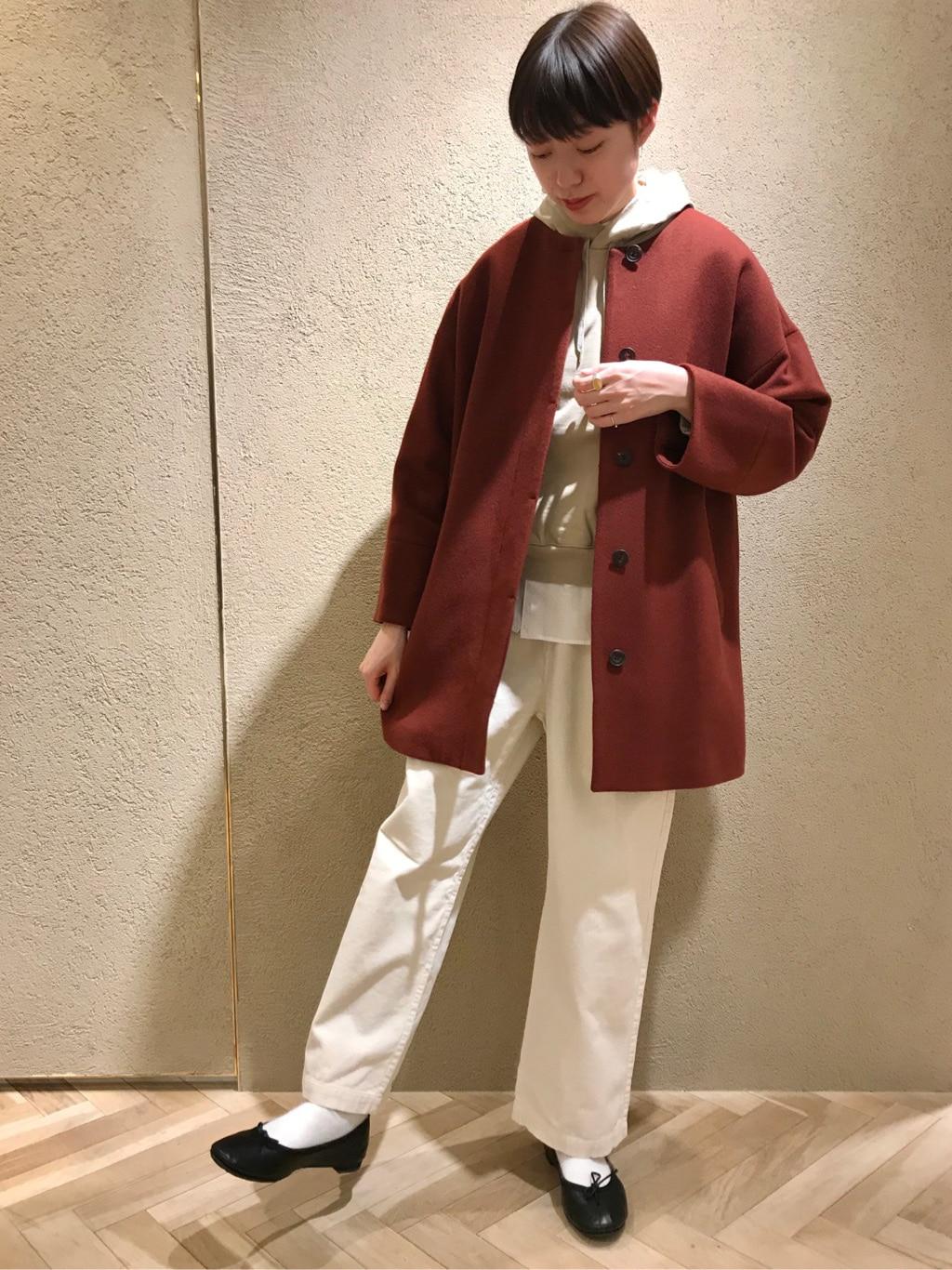 yuni ニュウマン横浜 身長:166cm 2020.12.23