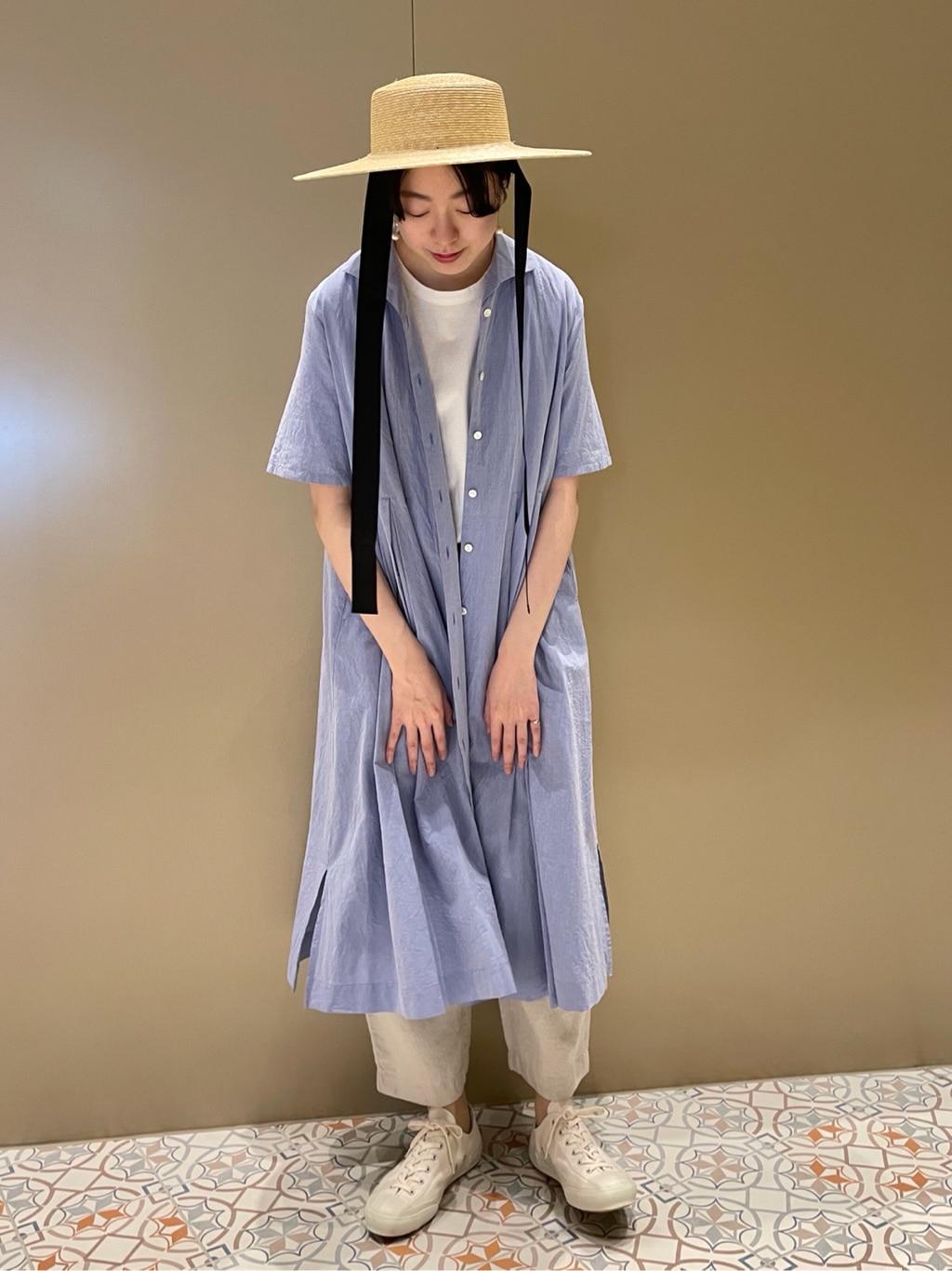 yuni ニュウマン横浜 身長:166cm 2021.04.05