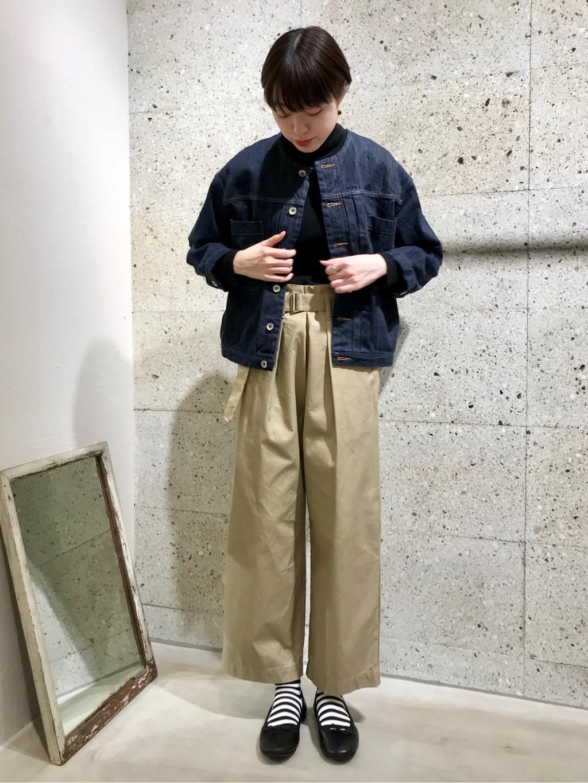 yuni ニュウマン横浜 身長:166cm 2021.01.12