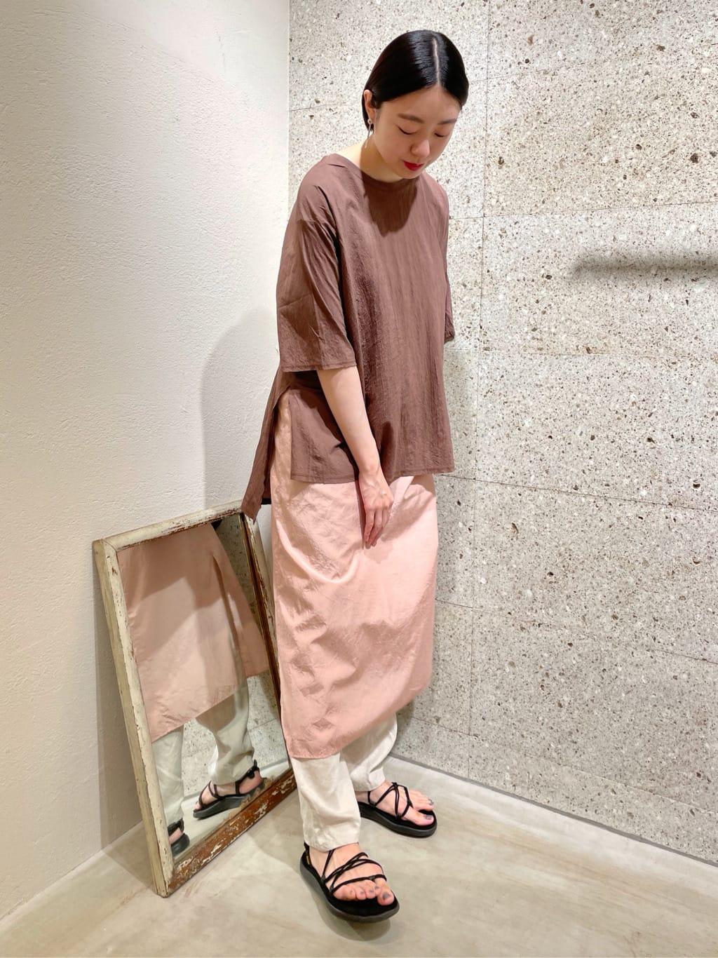 yuni ニュウマン横浜 身長:166cm 2021.07.16
