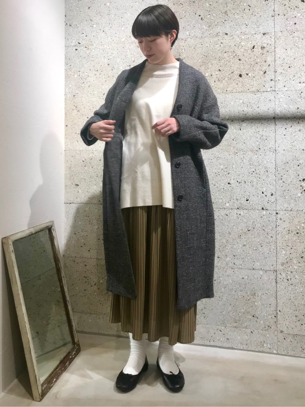 yuni ニュウマン横浜 身長:166cm 2021.01.08