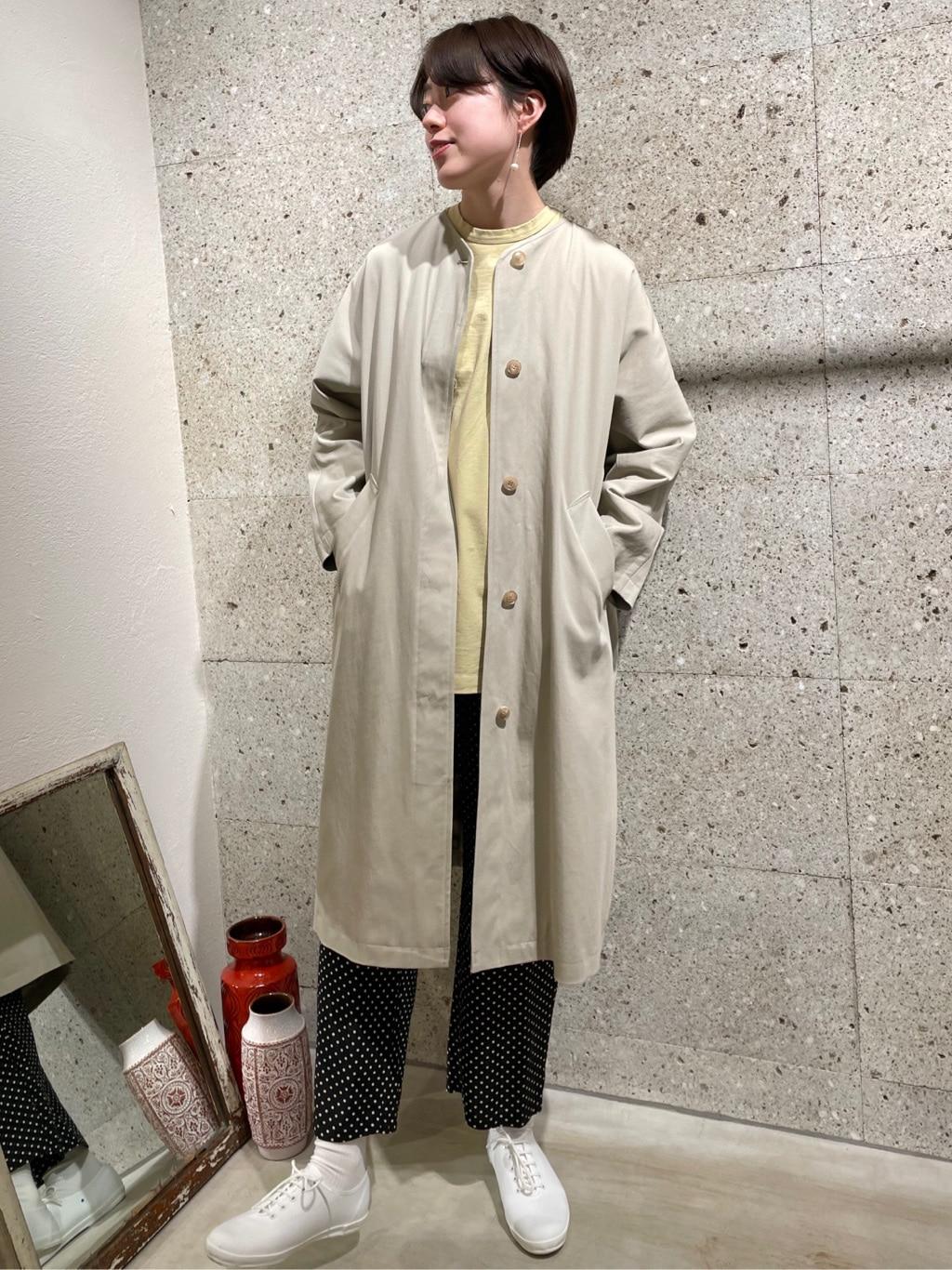 yuni ニュウマン横浜 身長:166cm 2021.03.11