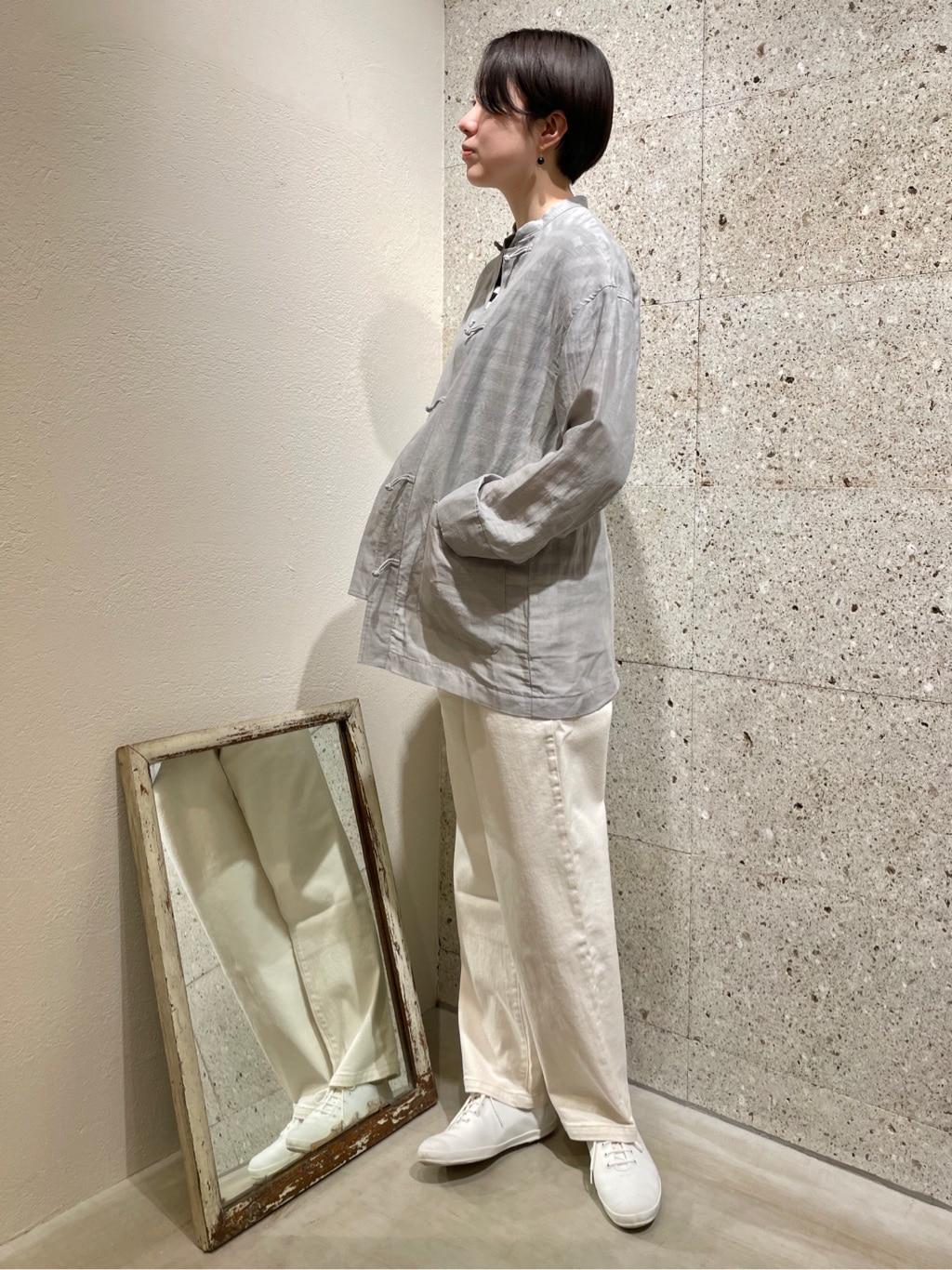 yuni ニュウマン横浜 身長:166cm 2021.04.09