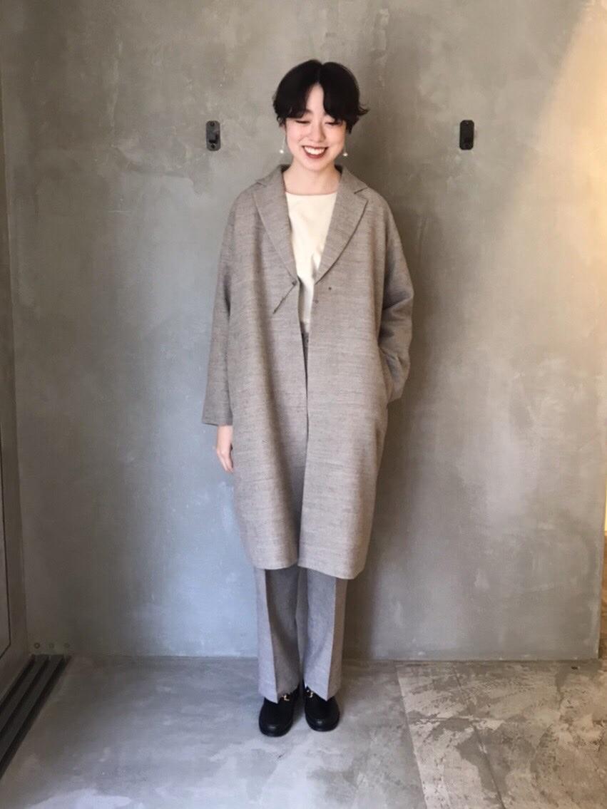 yuni ニュウマン横浜 身長:166cm 2020.10.19