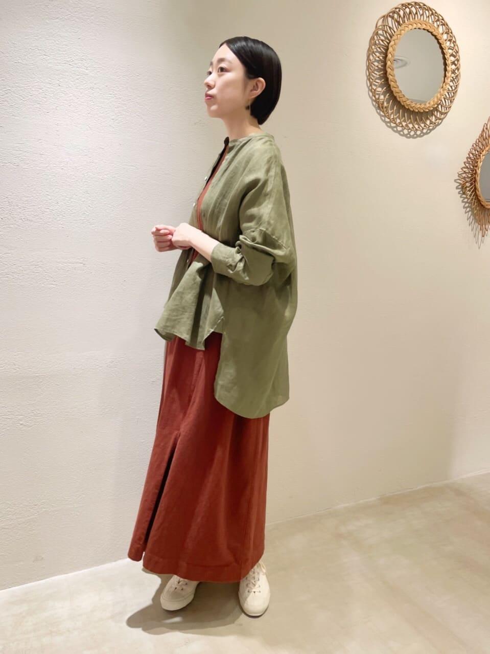 yuni ニュウマン横浜 身長:166cm 2021.08.26
