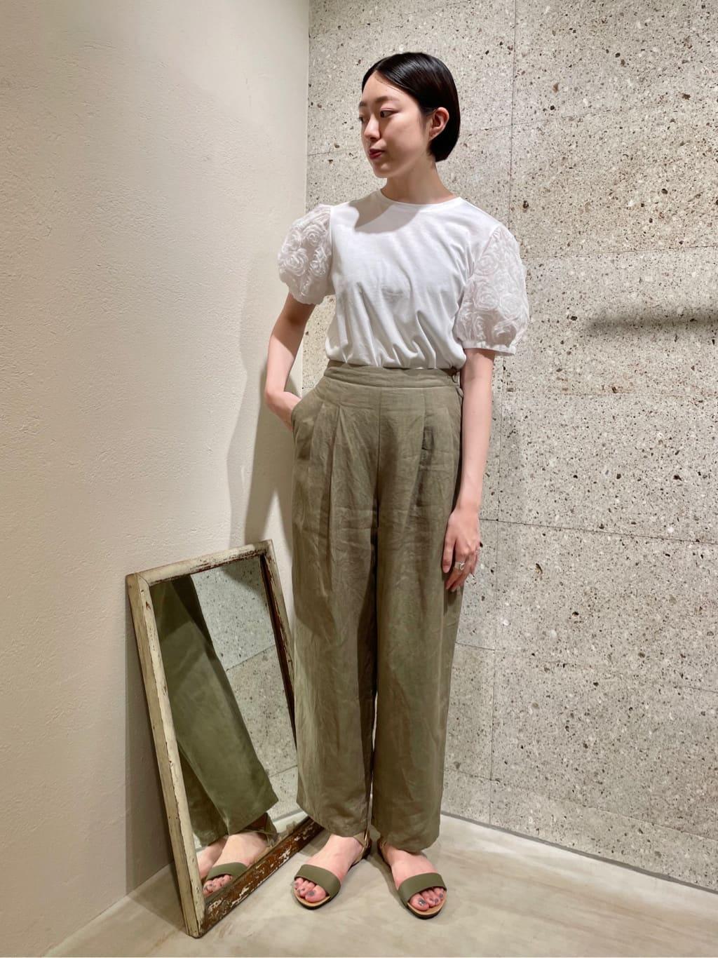 yuni ニュウマン横浜 身長:166cm 2021.07.14