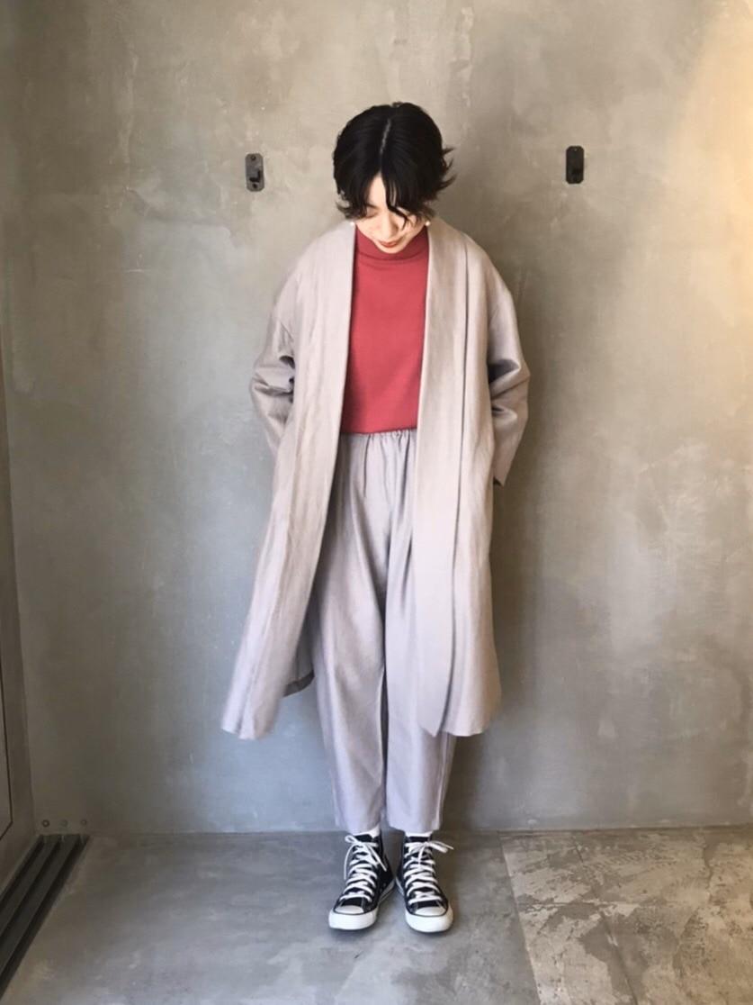 yuni ニュウマン横浜 身長:166cm 2020.10.12