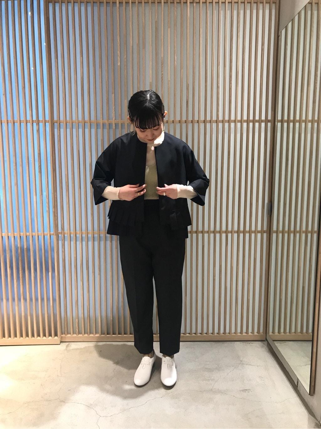 note et silence. ルクア大阪 身長:157cm 2020.02.21