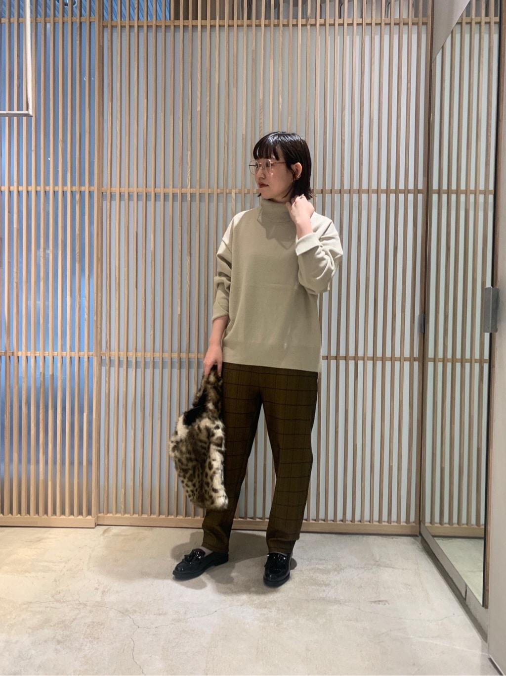 note et silence. ルクア大阪 身長:157cm 2019.10.29