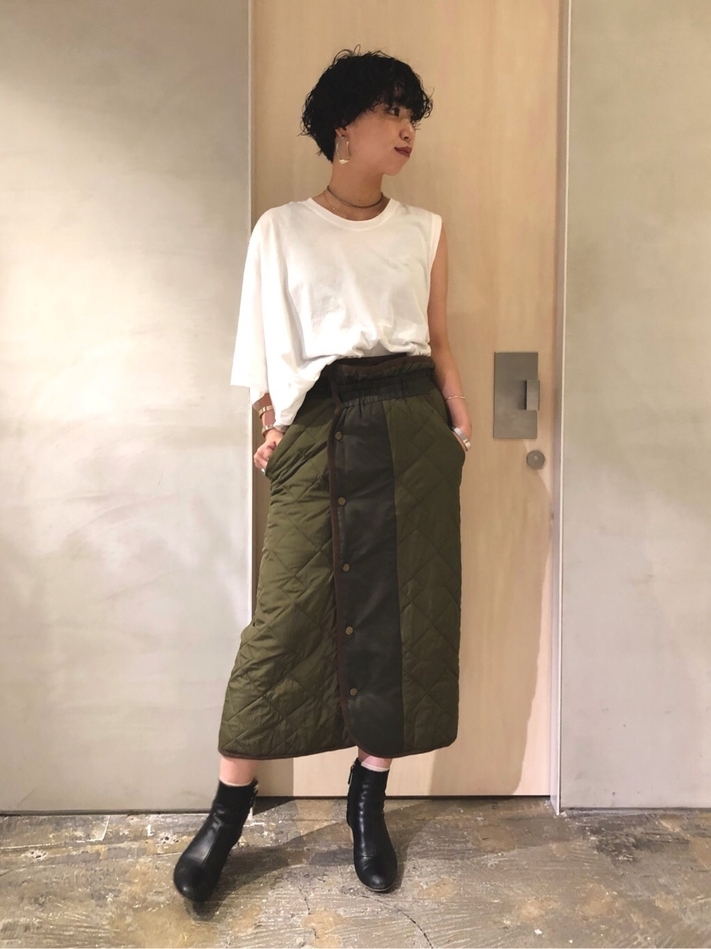 note et silence. ルミネ新宿 身長:160cm 2019.08.30