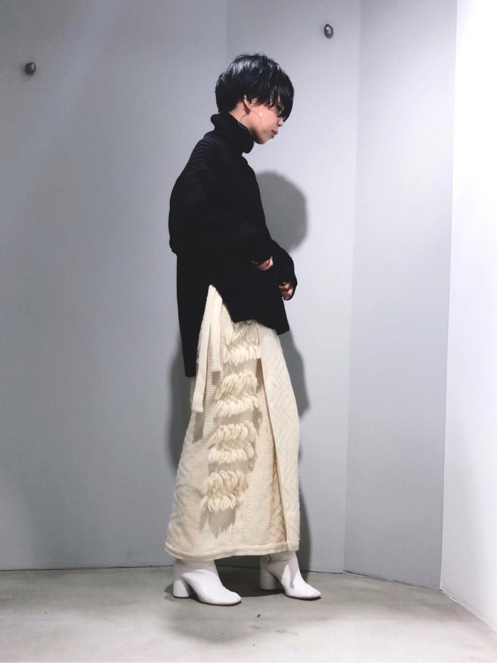 note et silence. ルミネ新宿 身長:160cm 2019.11.21