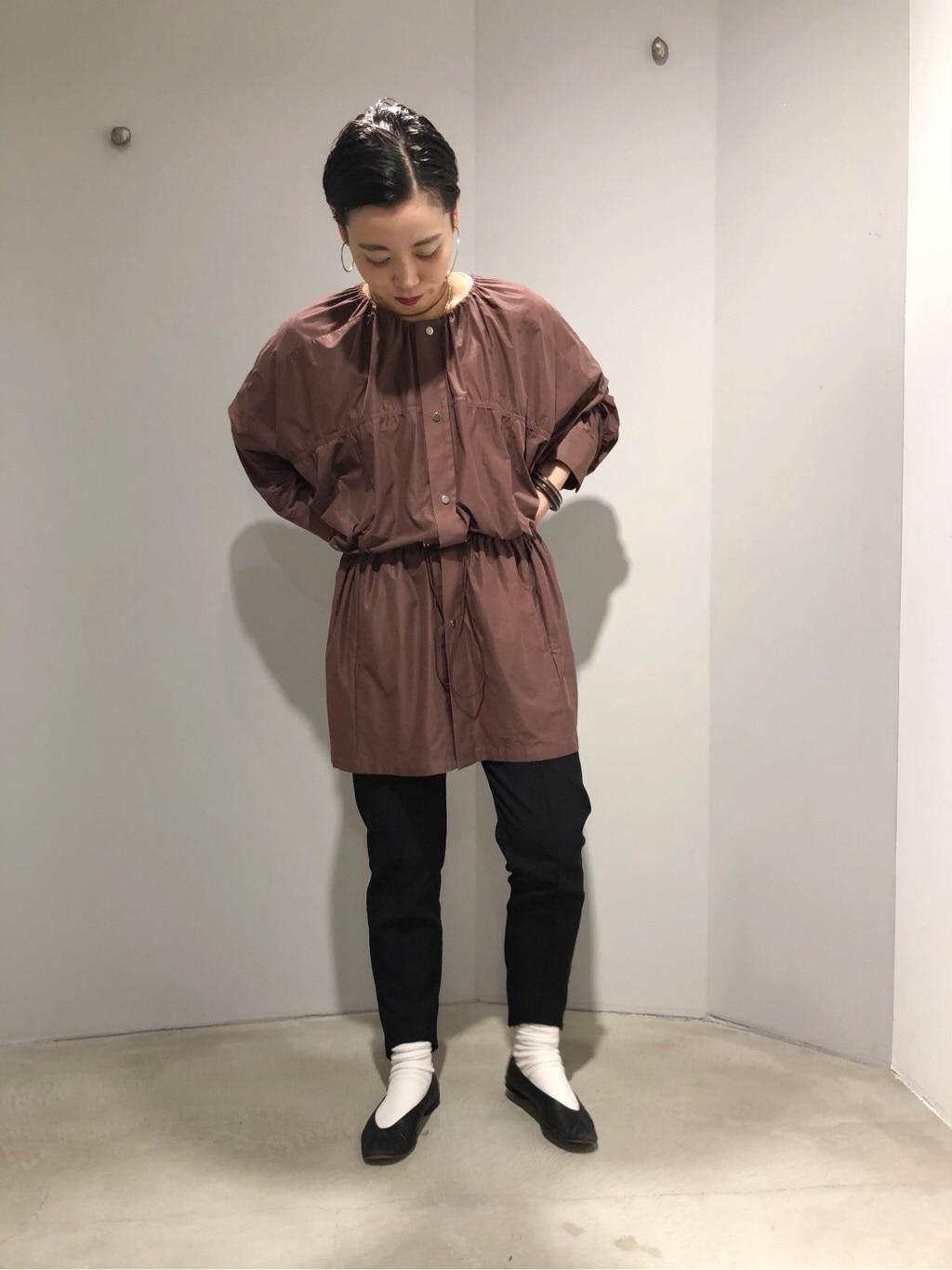 note et silence. ルミネ新宿 身長:160cm 2019.11.14