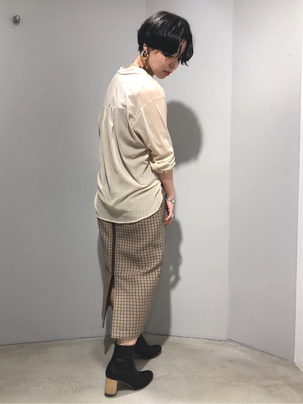note et silence. ルミネ新宿 身長:160cm 2019.10.07