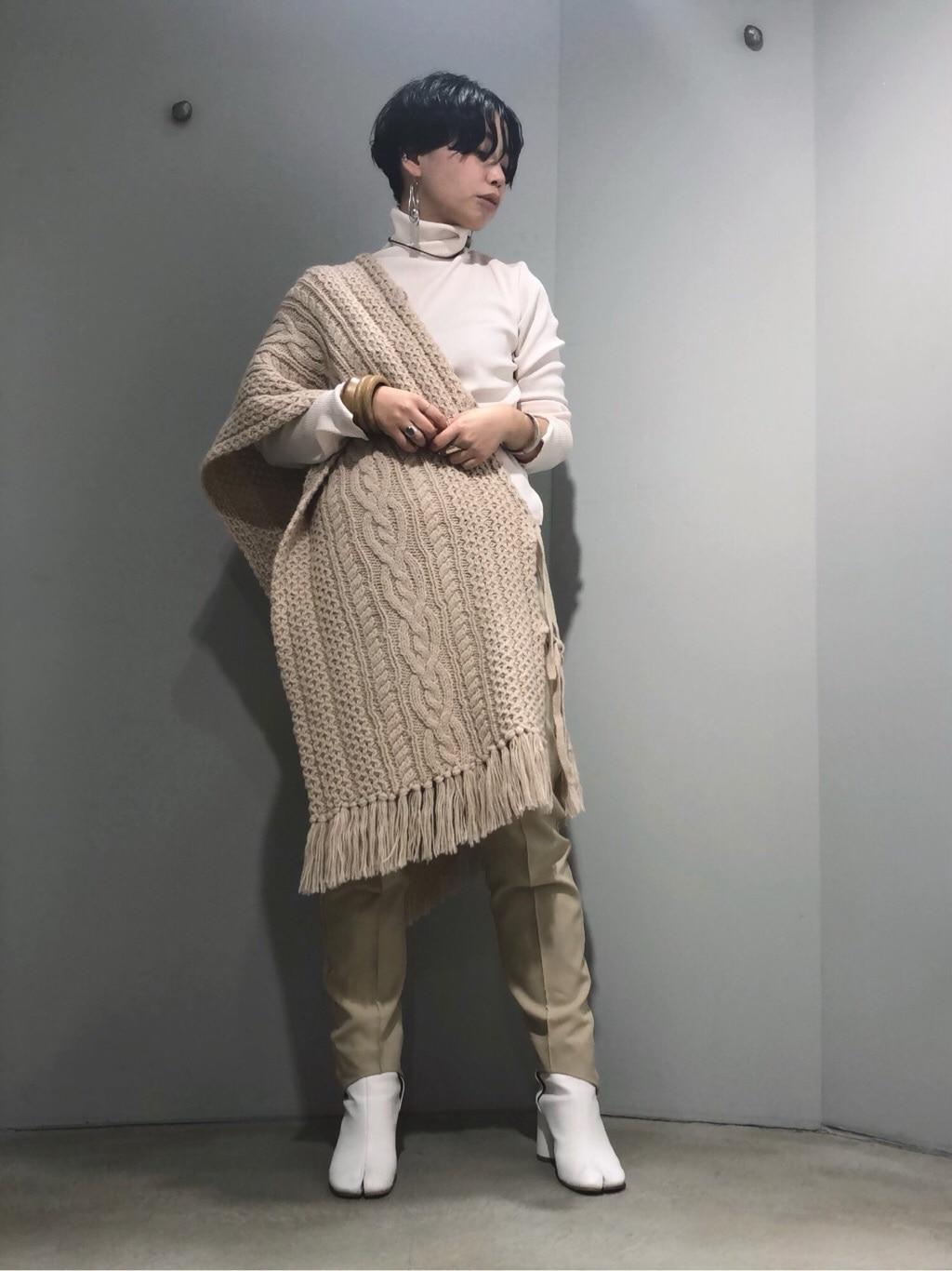 note et silence. ルミネ新宿 身長:160cm 2019.11.12