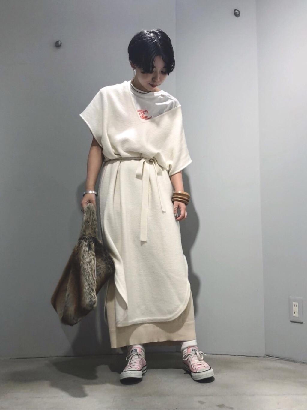 note et silence. ルミネ新宿 身長:160cm 2019.10.16