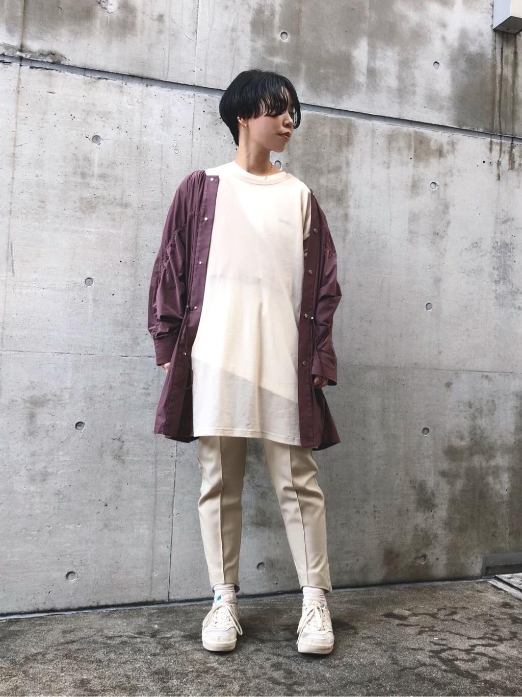caph troupe 代々木上原路面 身長:160cm 2019.12.13