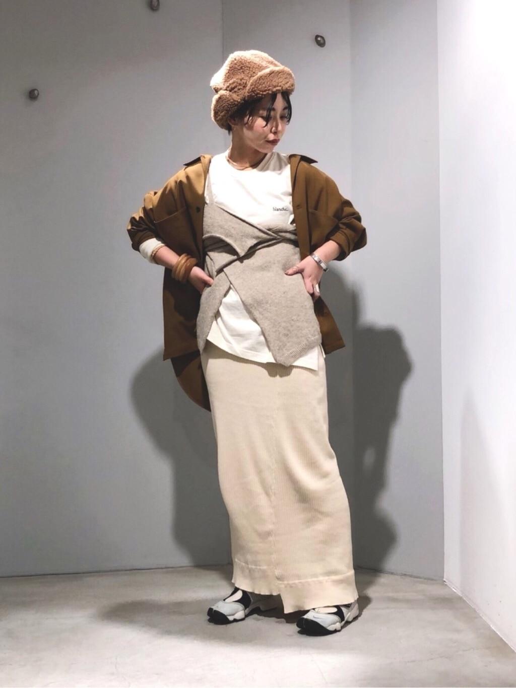 caph troupe 代々木上原路面 身長:160cm 2019.12.06