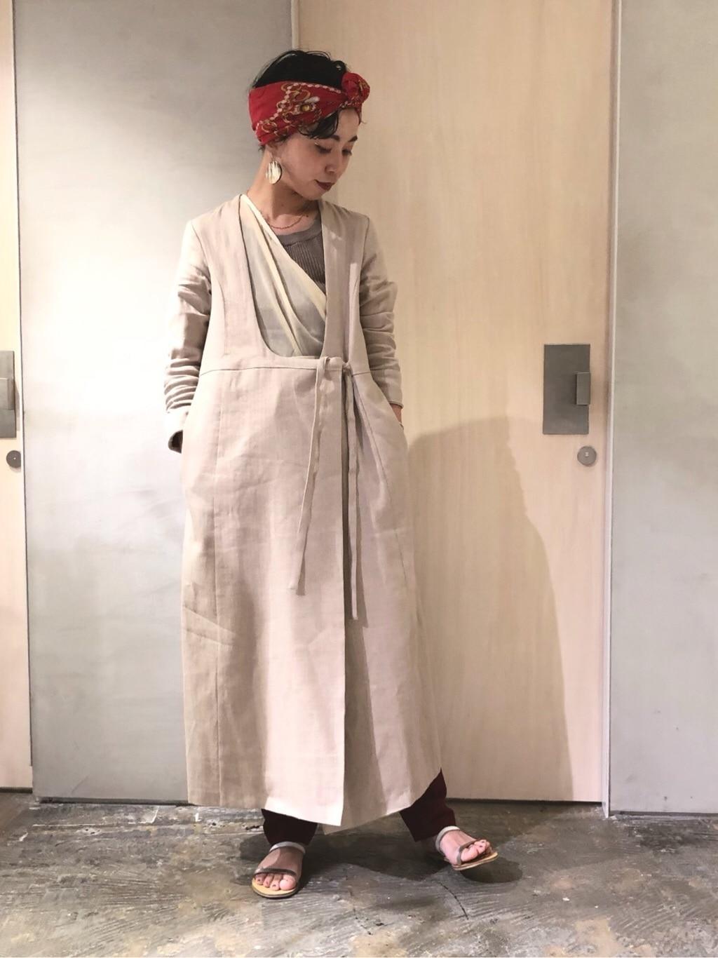 note et silence. ルミネ新宿 身長:160cm 2019.08.23