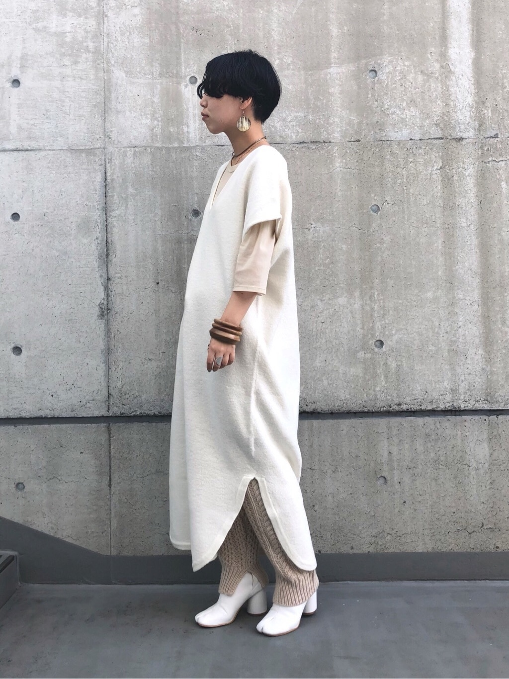 note et silence. ルミネ新宿 身長:160cm 2019.10.09