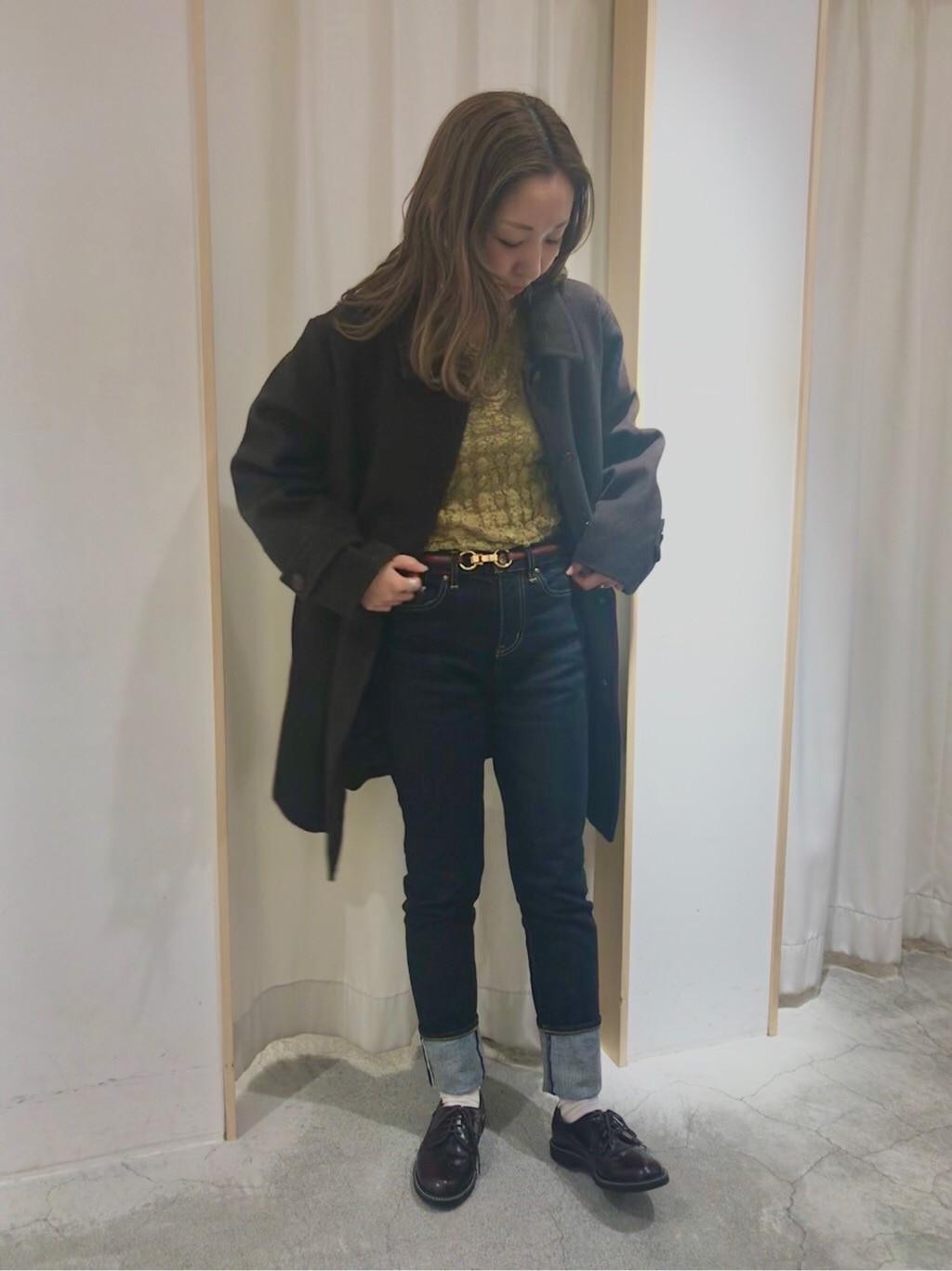 Dot and Stripes CHILD WOMAN ペリエ千葉 身長:155cm 2019.11.27