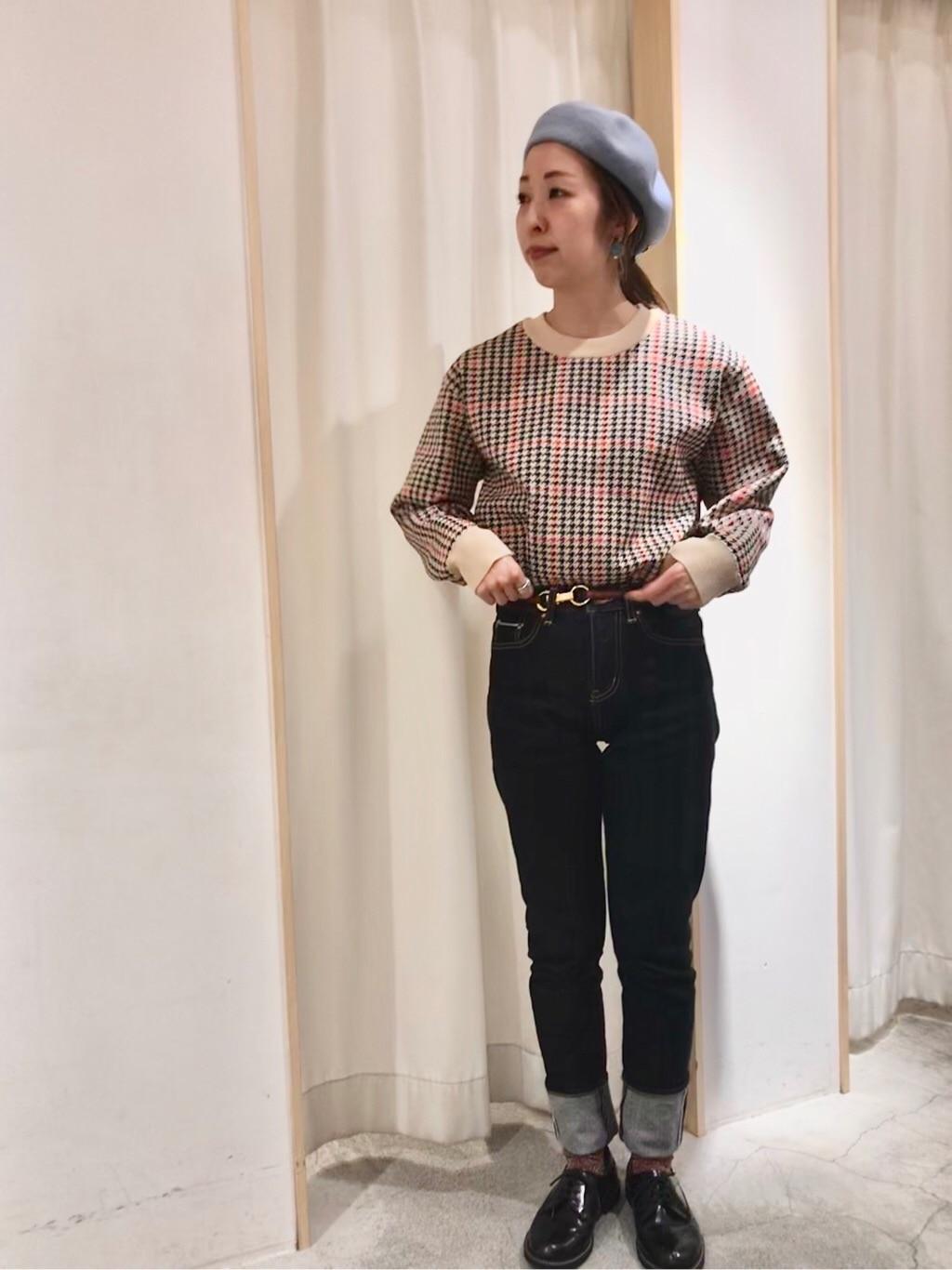 Dot and Stripes CHILD WOMAN ペリエ千葉 身長:155cm 2019.12.04