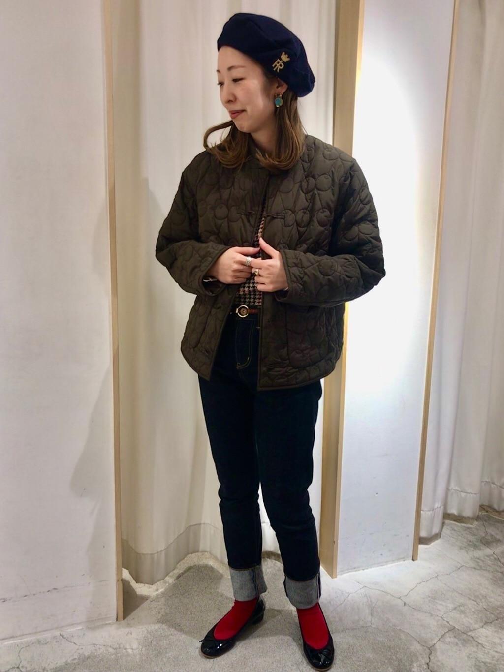 Dot and Stripes CHILD WOMAN ペリエ千葉 身長:155cm 2019.12.06