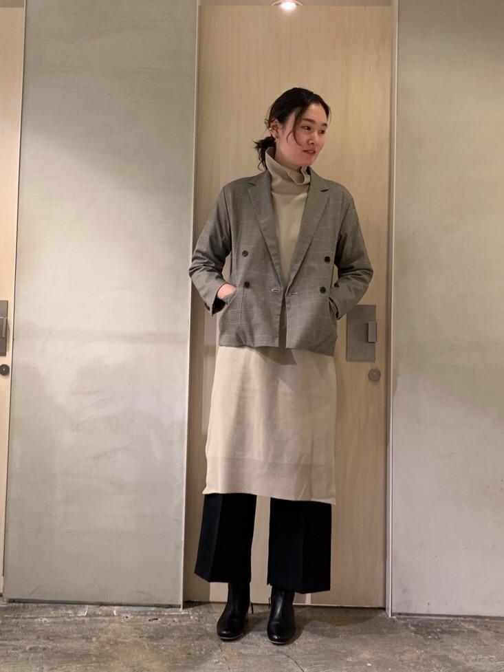 note et silence. ルミネ新宿 身長:167cm 2020.01.09