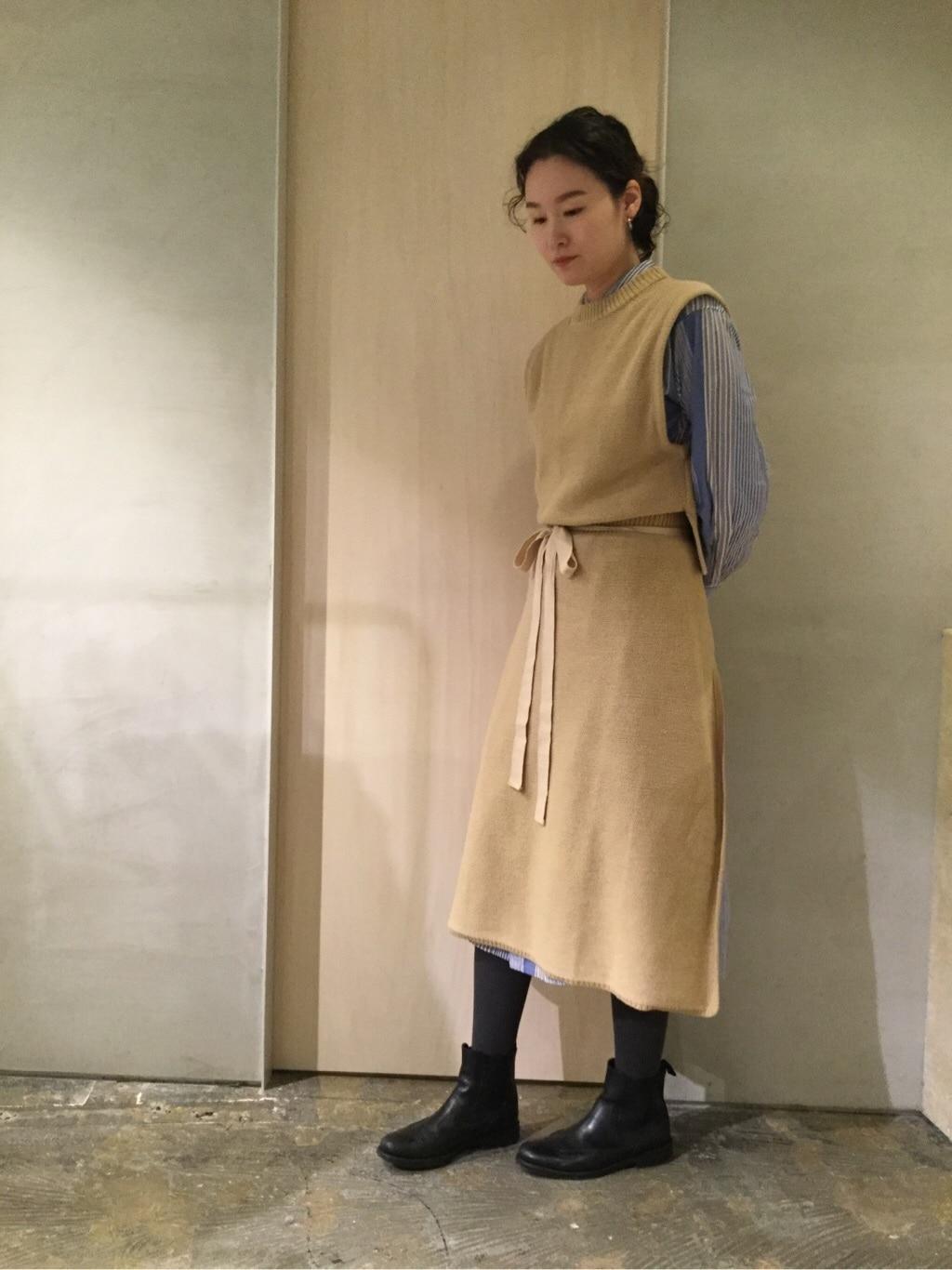 note et silence. ルミネ新宿 身長:167cm 2019.12.21