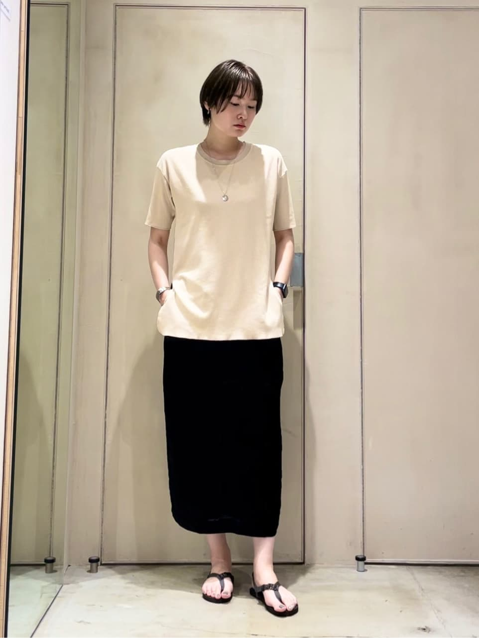 note et silence. ルミネ大宮 身長:167cm 2021.07.14