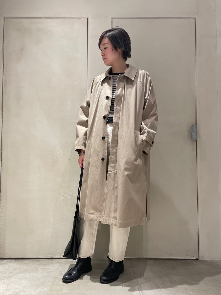 note et silence. ルミネ大宮 身長:167cm 2021.01.18