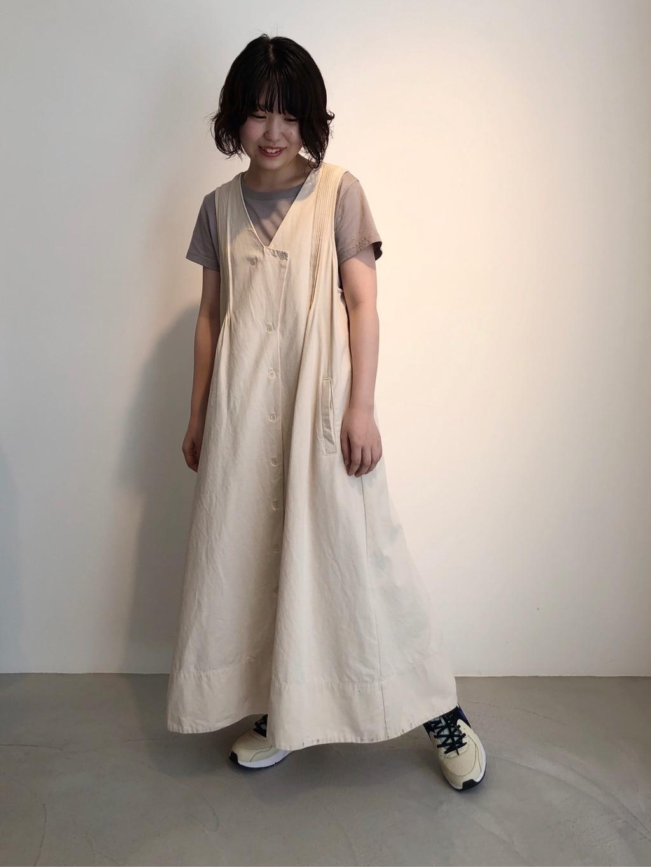 - l'atelier du savon FLAT AMB 天神イムズ 身長:147cm 2020.08.21