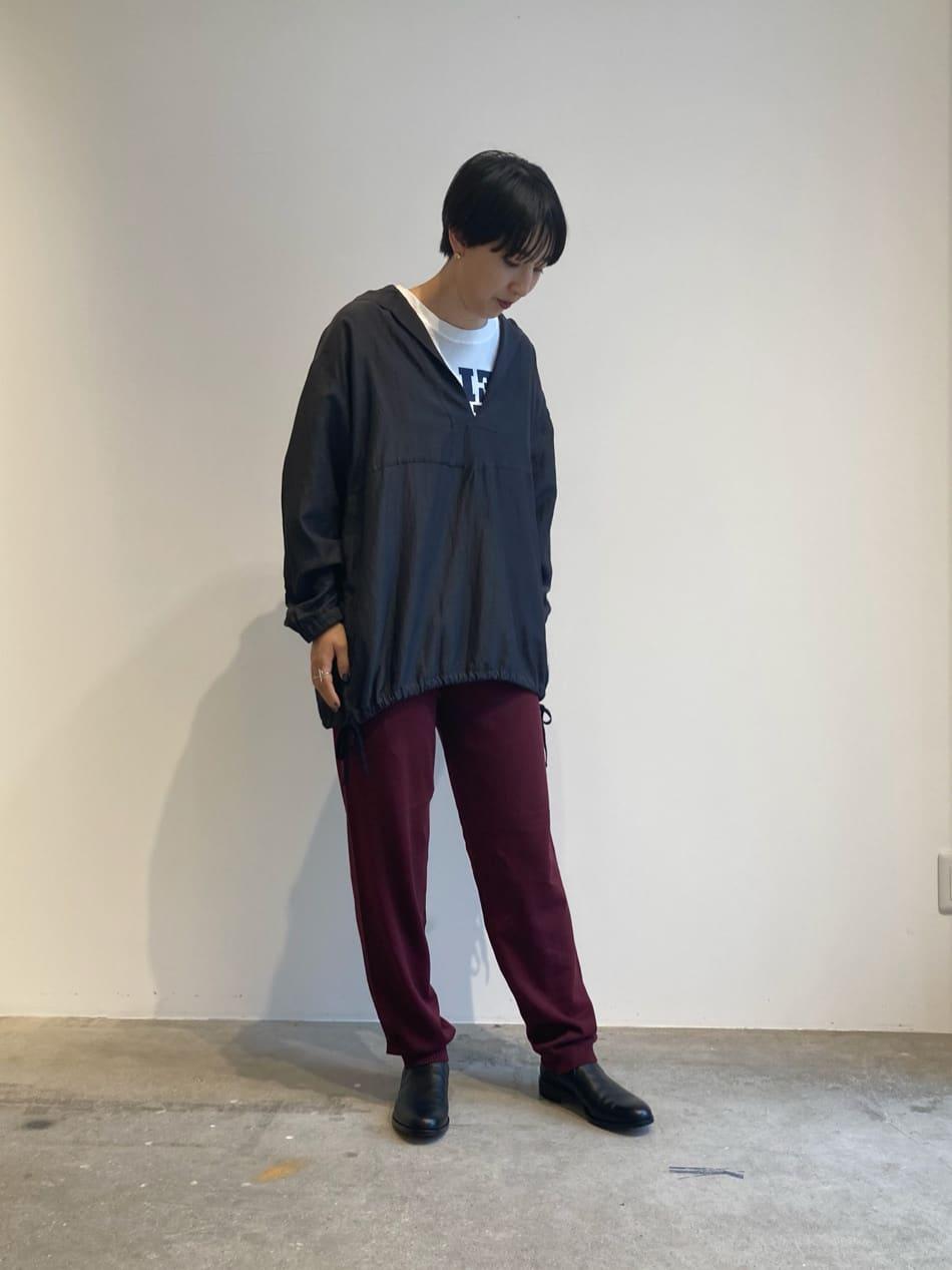 - note et silence. FLAT AMB 名古屋栄路面 身長:163cm 2021.09.03