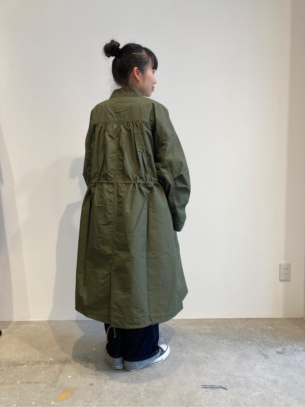 - note et silence. FLAT AMB 名古屋栄路面 身長:163cm 2020.09.09