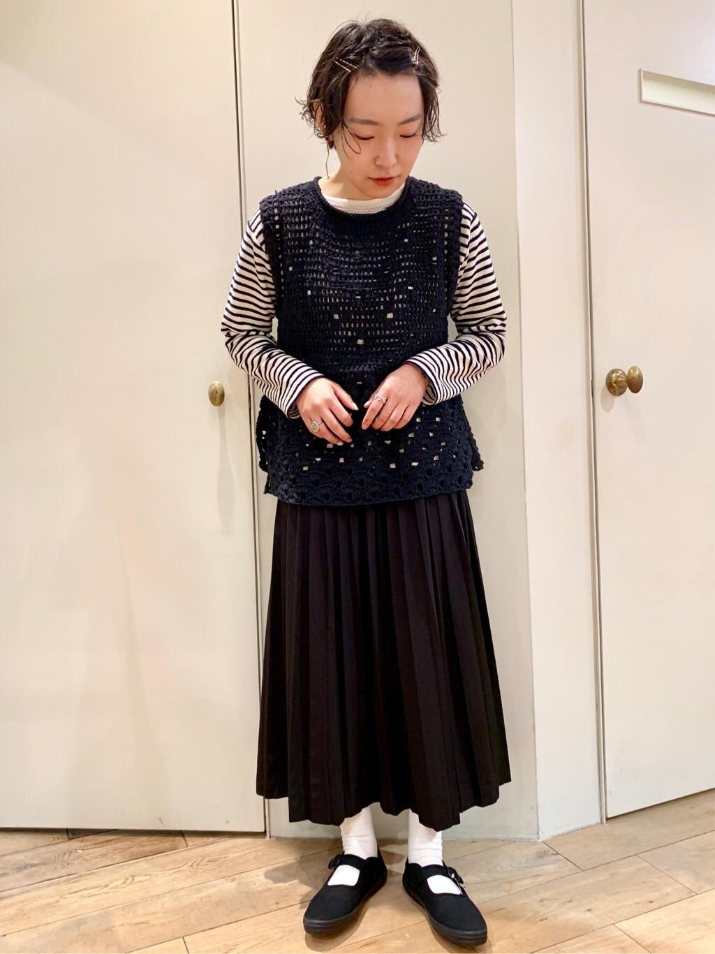 bulle de savon 新宿ミロード 身長:159cm 2020.03.02