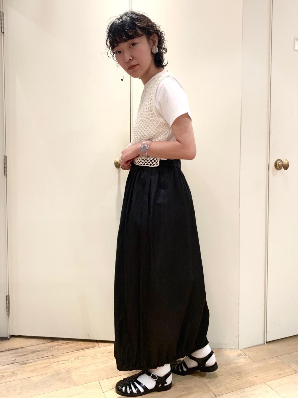 bulle de savon 新宿ミロード 身長:159cm 2020.07.17