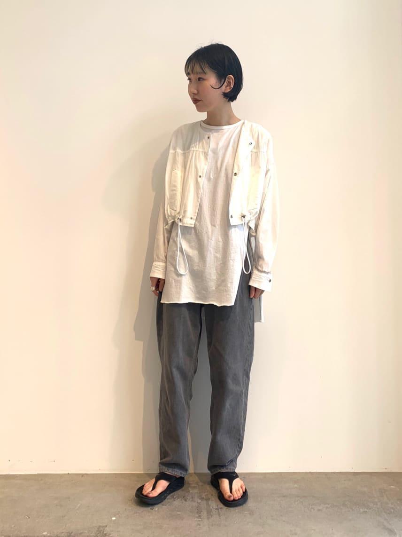 - note et silence. FLAT AMB 名古屋栄路面 身長:165cm 2021.07.16