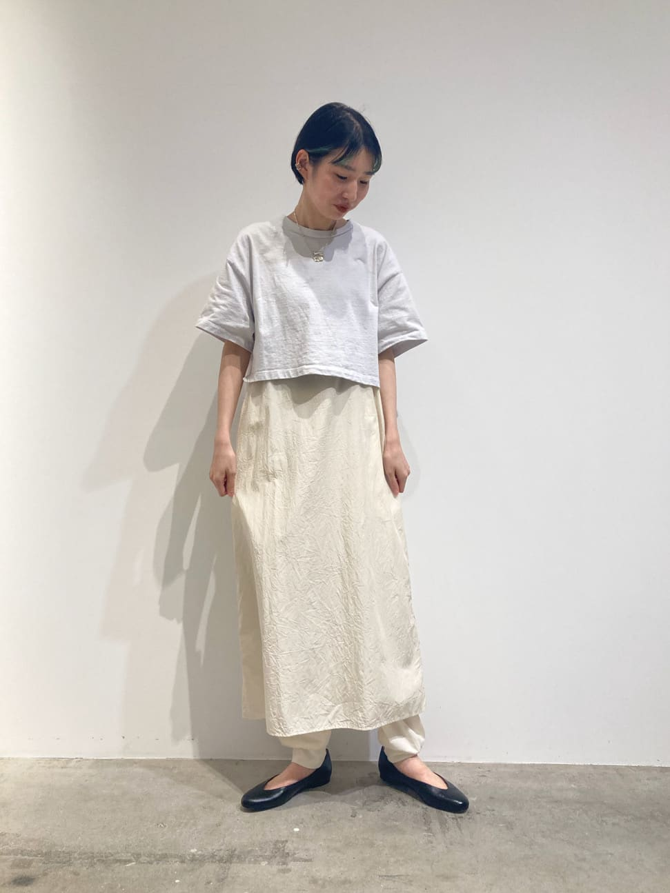 - note et silence. FLAT AMB 名古屋栄路面 身長:165cm 2021.07.20