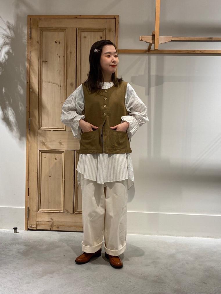 Malle chambre de charme 調布パルコ 身長:152cm 2020.08.16